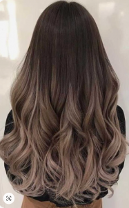 smoky gray hair color